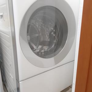 一人暮らしのワンルーム!でもドラム式洗濯乾燥機買っちゃいました!!めっちゃ時短になります!!!