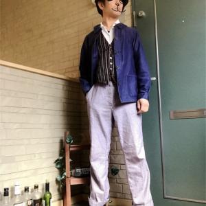 ワークウェア②〜シェフパンツを着る