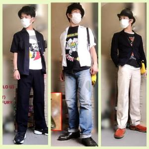 【コーデ集】最近のTシャツコーデ