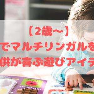 【2歳~】おうちでマルチリンガルを育む!子供が喜ぶ遊びアイデア