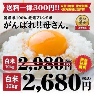 今月もお米10KG(TポイントとPayPayで0円)到着。