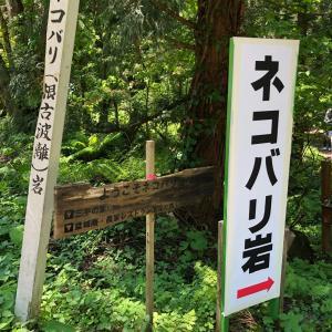 秋田県昭和町ネコバリ岩からのランチ❣️