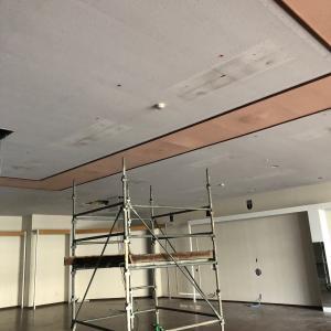 秋田県南で商業施設の新装内装工事が始まりました❣️