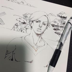 お絵描き〜ジョジョ風〜