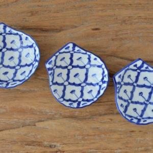 青白陶磁器 ブルー&ホワイト (タイ)