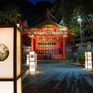 江ノ島の灯篭を見に行きました (江島神社)