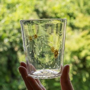 【再入荷のお知らせ】ほっこり向日葵のグラスが入荷してます 極楽寺がらす工房