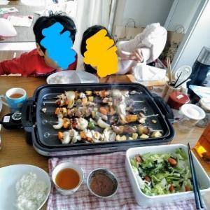 ニトリのステンレス焼き串10本でお昼ご飯のテンションアップ。