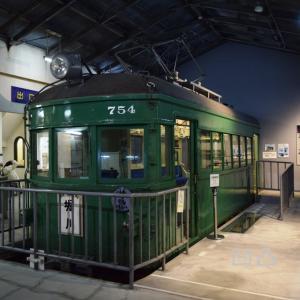 名鉄モ750形モ754カットボディ 瀬戸市瀬戸蔵ミュージアム