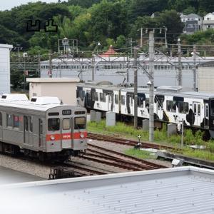 東急8500系デハ8606&デハ8506 長津田工場