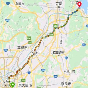 日帰り琵琶湖サイクリングでトンテキ美味しかったの巻