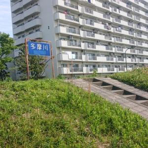 初の多摩川サイクリングロード