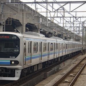 JR赤羽駅で東京臨海高速鉄道70-000形を撮影!