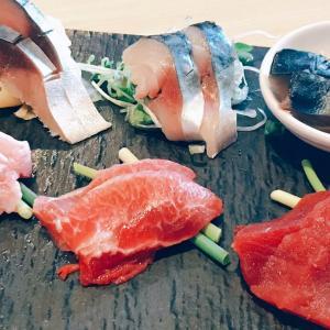たまには贅沢な魚料理を まぐろとさば。