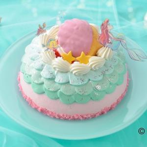 【ひな祭り】リトルマーメイド ケーキ(銀座コージーコーナー)