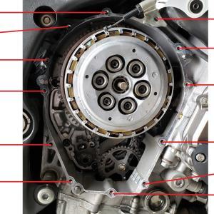2014年式 ZX-10R クラッチ点検、交換