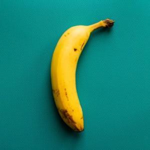 バナナとゼリー