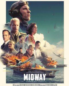 太平洋戦争の最大級の総力戦を描いた大作映画『ミッドウェイ』を観たので紹介。