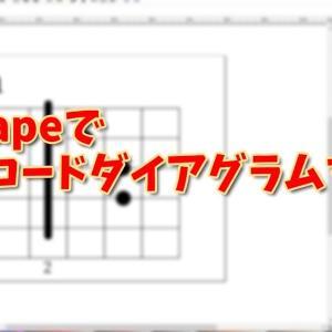 Inkscapeでギターコードダイアグラムを自作する方法