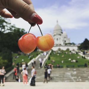 パリでモナコを。サクレ・クールとさくらんぼの乙女ガーリィなモンマルトル散歩