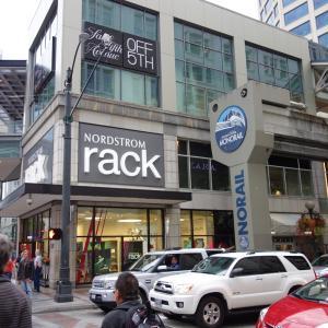 アウトレット・ショッピングinシアトル☆街ナカアウトレットのノードストローム・ラックは絶対に行って欲しい件