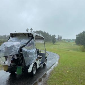 豪雨ラウンド@日本長江ゴルフクラブの巻