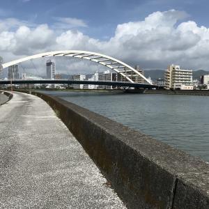 【オススメ】高知市のランニングコースその4~鏡川、鏡川大橋編~
