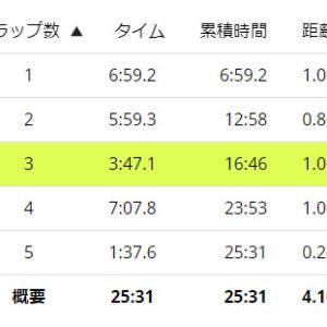 【再挑戦】モルテンチャリティーマラソン:男子20kmコース