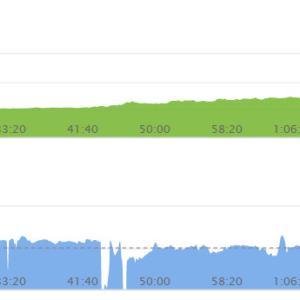 第20回ロングラン(1kmジョグ→19.5km走→9kmジョグ)
