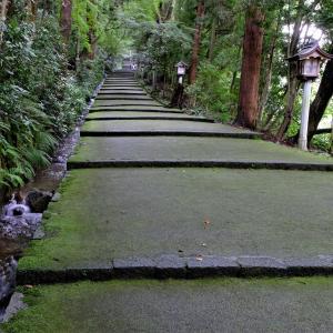 参道と小滝