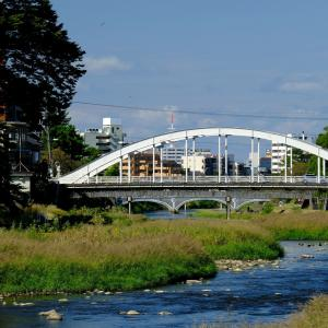 浅野川に架かる橋