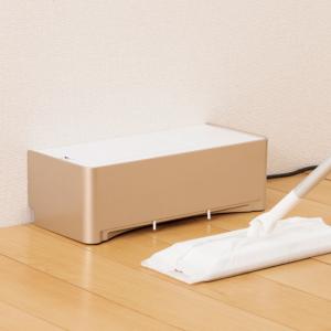 【おすすめ便利家電】フロアワイパーの強力な相棒!新しい形の掃除機 CCP 電気ちりとり