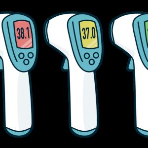 コロナ対策!体温計おすすめランキング!非接触型や最新の体温計も