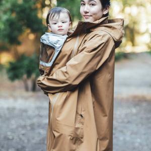 【ママパパ兼用でコスパ良し!】ベビーカバー付きで雨の日の赤ちゃんとのお出掛けも楽しく THE NORTH FACEザ・ノース・フェイス MTY ピッカパックレインコート
