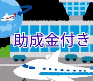 外国人向けに援助付きの航空便