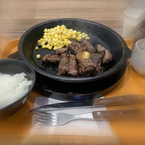 またも「いきなり!ステーキ」でもう少しお待ちください