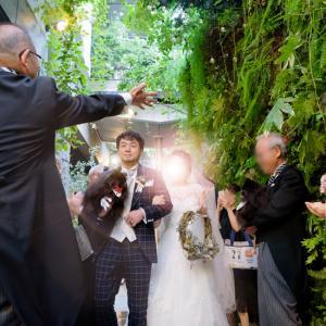 ライスシャワーで結婚式は終了 ~結婚式ララバイ⑨