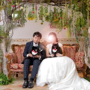 愛犬と一緒の披露宴 ~結婚式ララバイ⑪