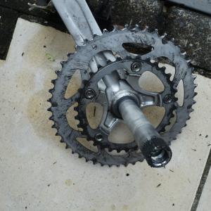 【自転車】BB=ボトムブラケットが届いたから交換したら・・・・。