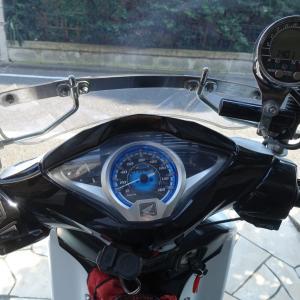 タイカブのサイクルメーターを小型のものに変更する