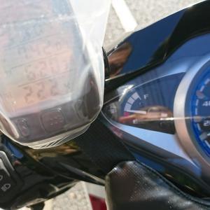 CKM002オイル添加剤投入後の3回平均燃費