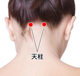 頭痛、肩こりに効果的なツボ