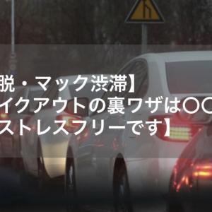【脱・マック渋滞】テイクアウトの裏ワザは〇〇!【ストレスフリーです】