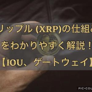 リップル(XRP)の仕組みをわかりやすく解説【IOU、ゲートウェイとは?】