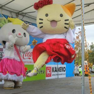 「みっけちゃん」、「えがおん」(大阪府のゆるキャラ)写真集 その2