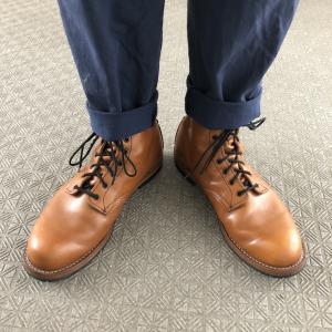 2足しかブーツ持っていない主夫のお供はレッドウィング ベックマン