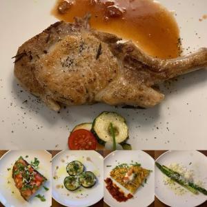 食好き高校生が父の日に作るコースディナー