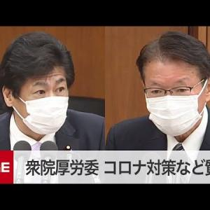 【国会中継】衆院厚労委 新型コロナ対策など質疑(2020年12月2日)