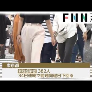 新型コロナ 東京都で382人、全国2674人感染 大阪425人 4日連続東京上回る