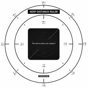 【Keep Distance Ruler】iPhoneアプリでソーシャルディスタンスに必要な2mを測るAR定規